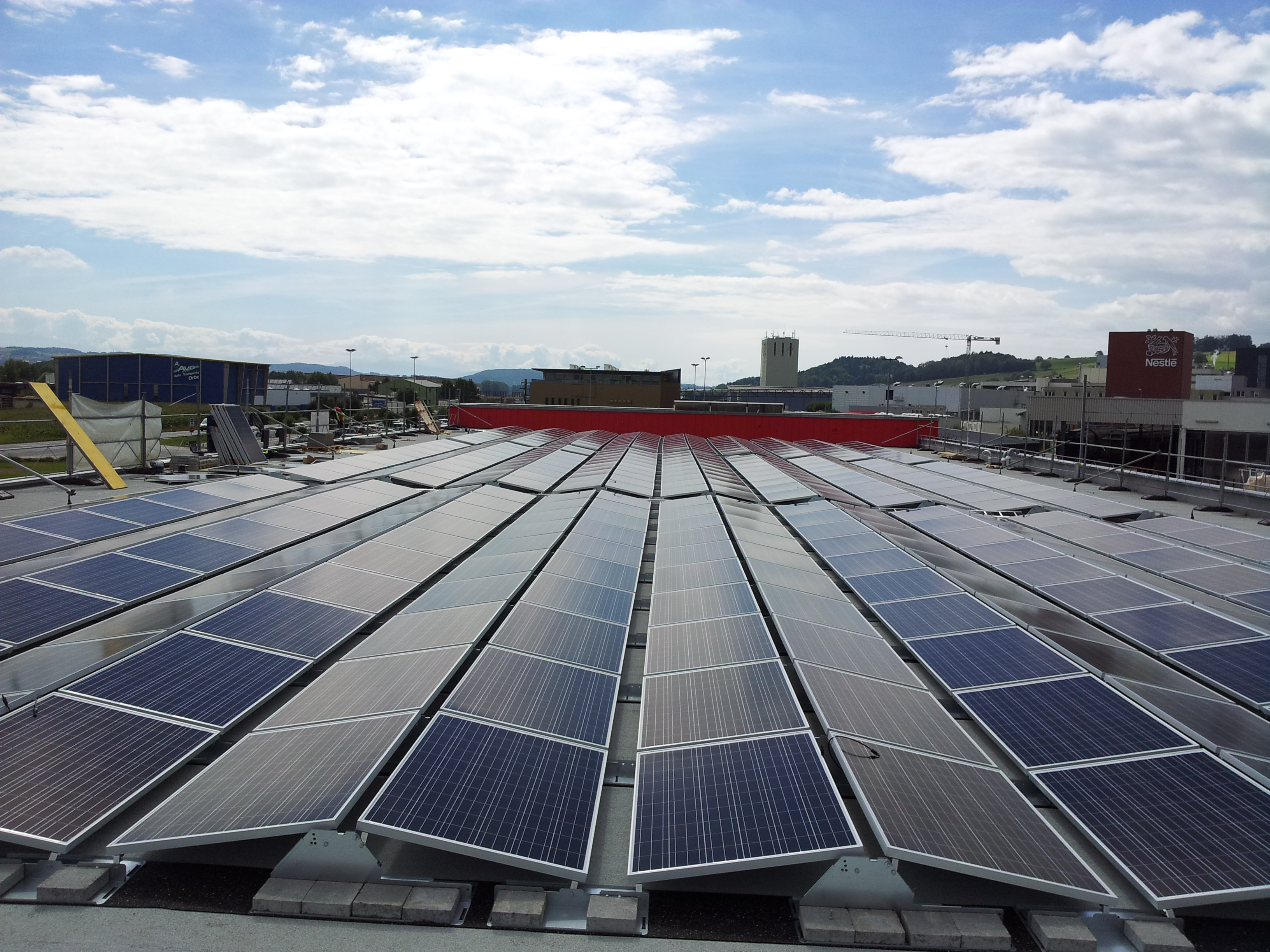 F 4 centrale solaire